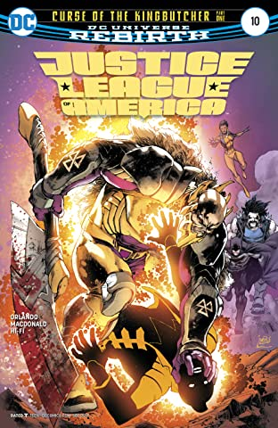 Justice League of America (2017-2018) #10