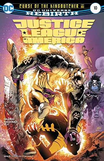 Justice League of America (2017-) #10