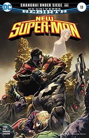 New Super-Man (2016-2018) #13