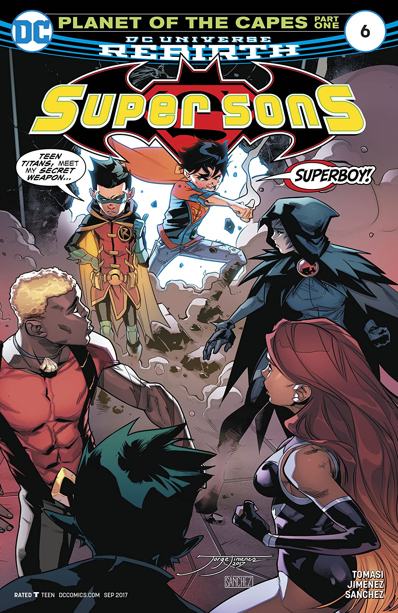 Super Sons (2017-) #6