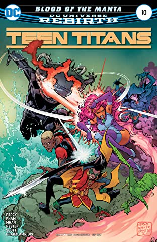 Teen Titans (2016-) No.10