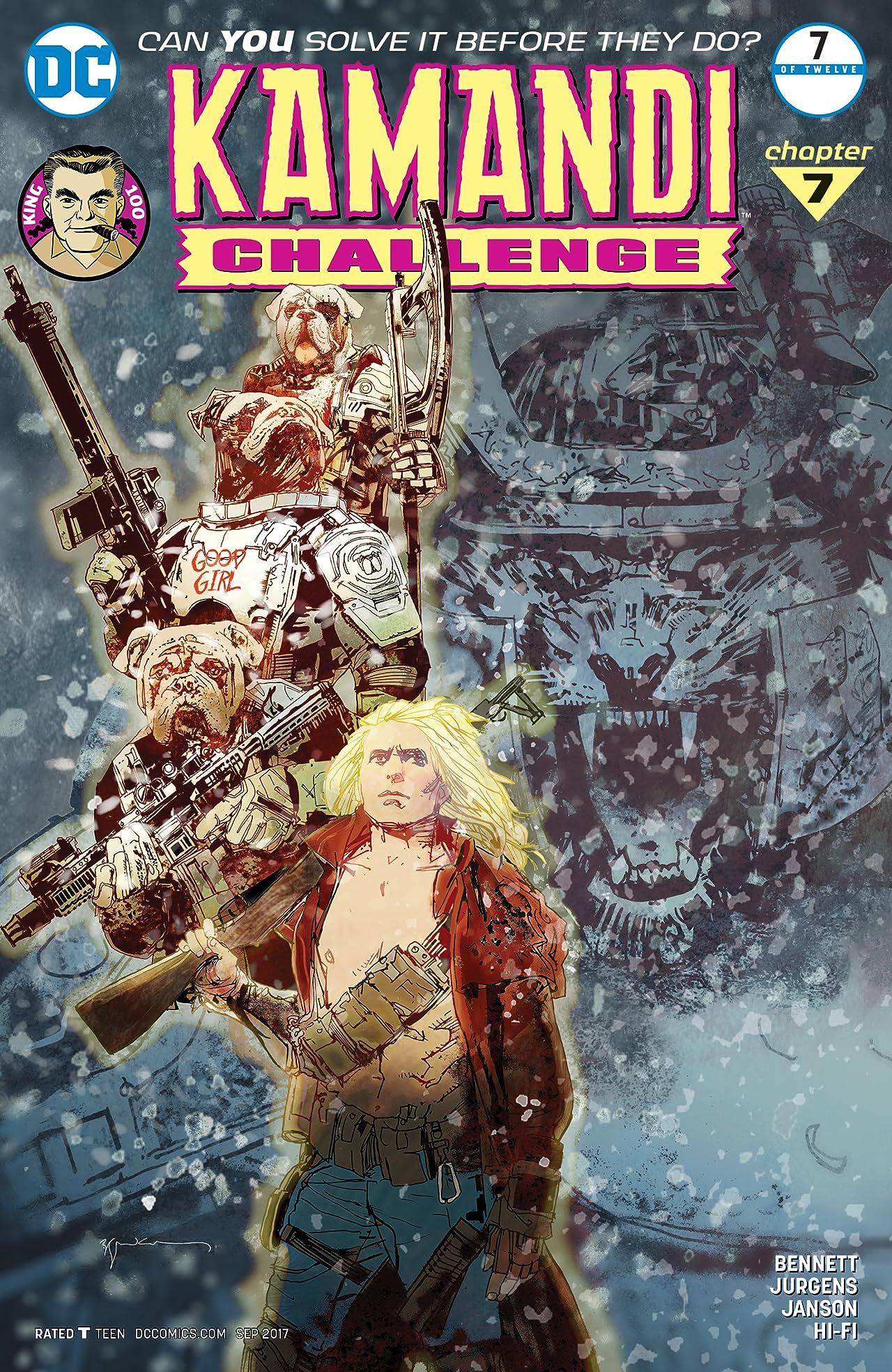 The Kamandi Challenge (2017) #7