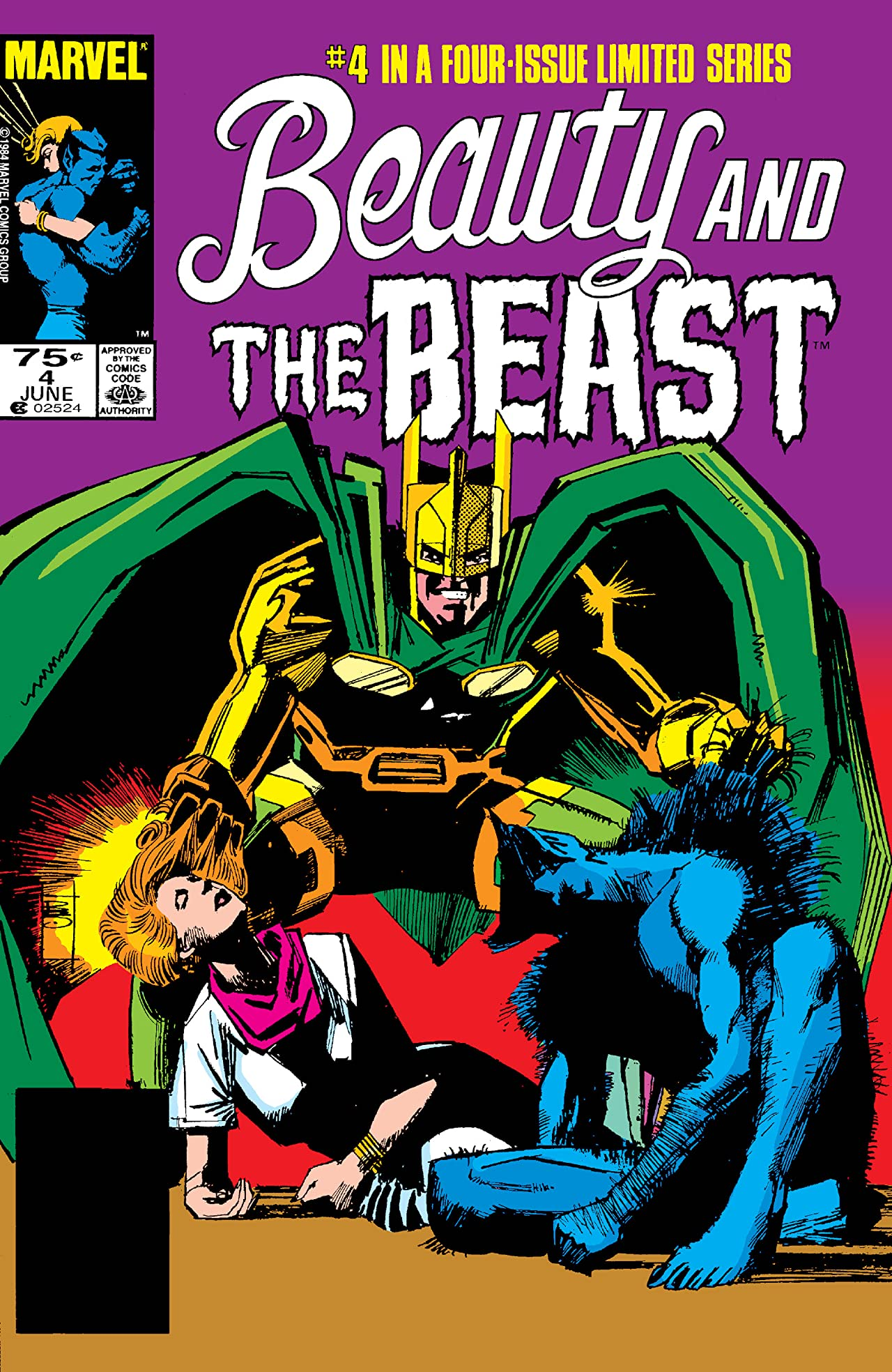 Beauty and the Beast (1985) #4 (of 4)