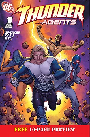 THUNDER Agents #1: Preview