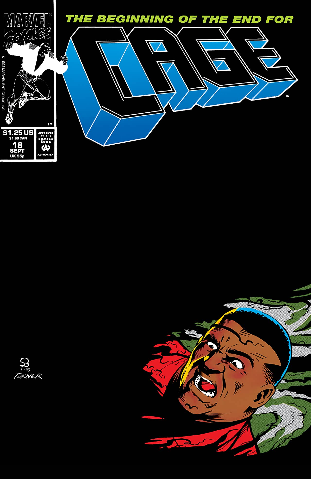 Cage (1992-1993) #18