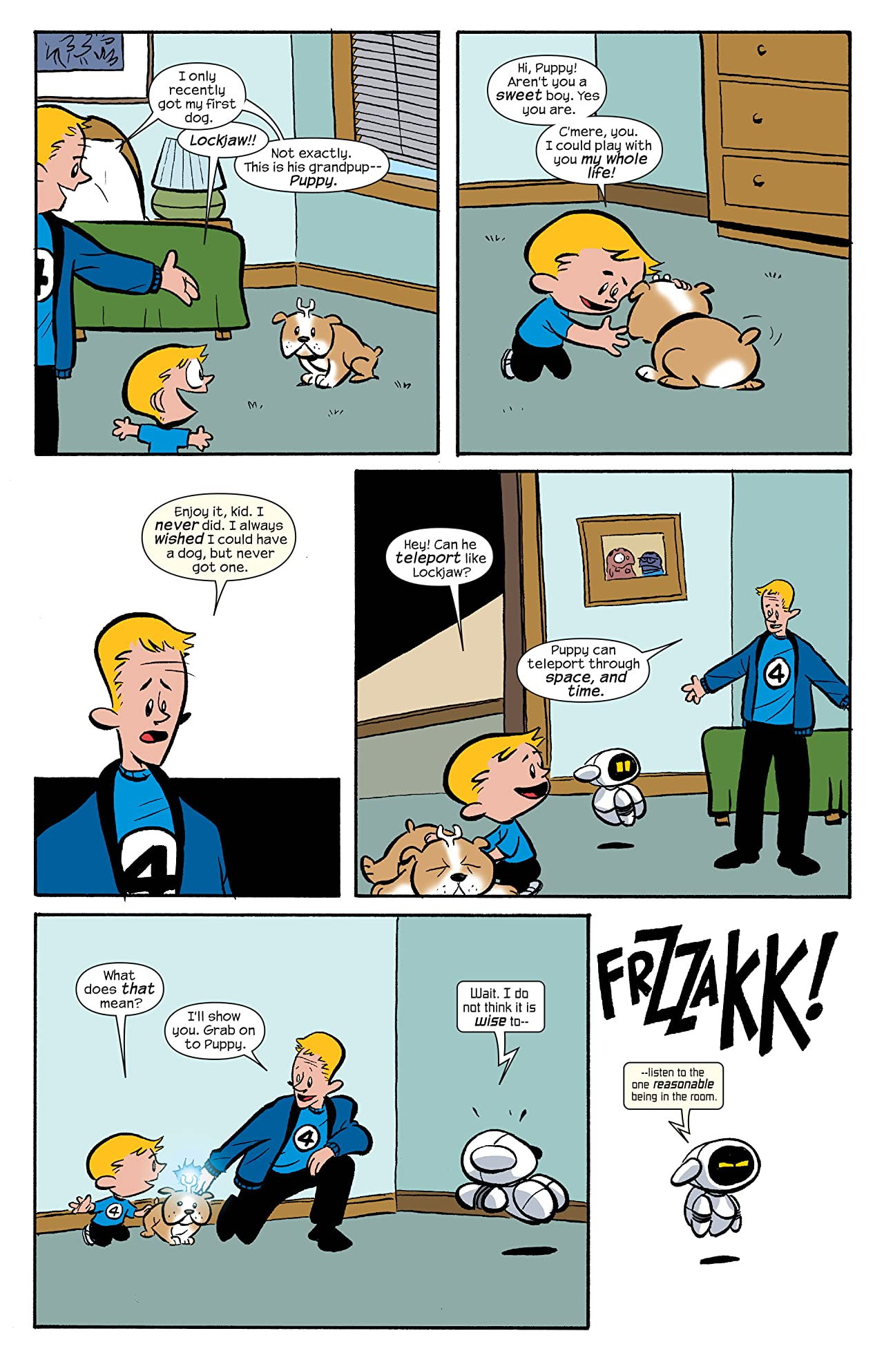 Franklin Richards: It's Dark Reigning Cats & Dogs #1