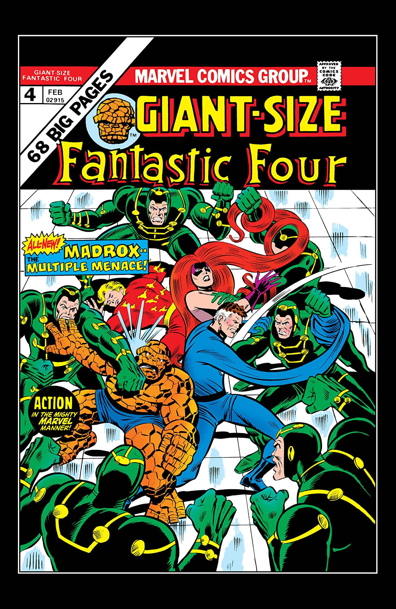 Giant-Size Fantastic Four (1975) #4