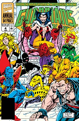 Guardians of the Galaxy (1990-1995) Annual #4
