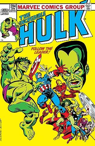 Incredible Hulk (1962-1999) #284