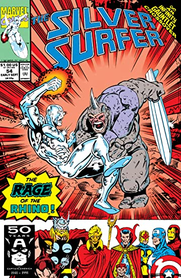 Silver Surfer (1987-1998) #54
