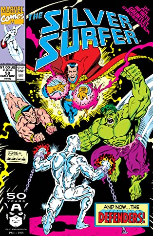 Silver Surfer (1987-1998) #58