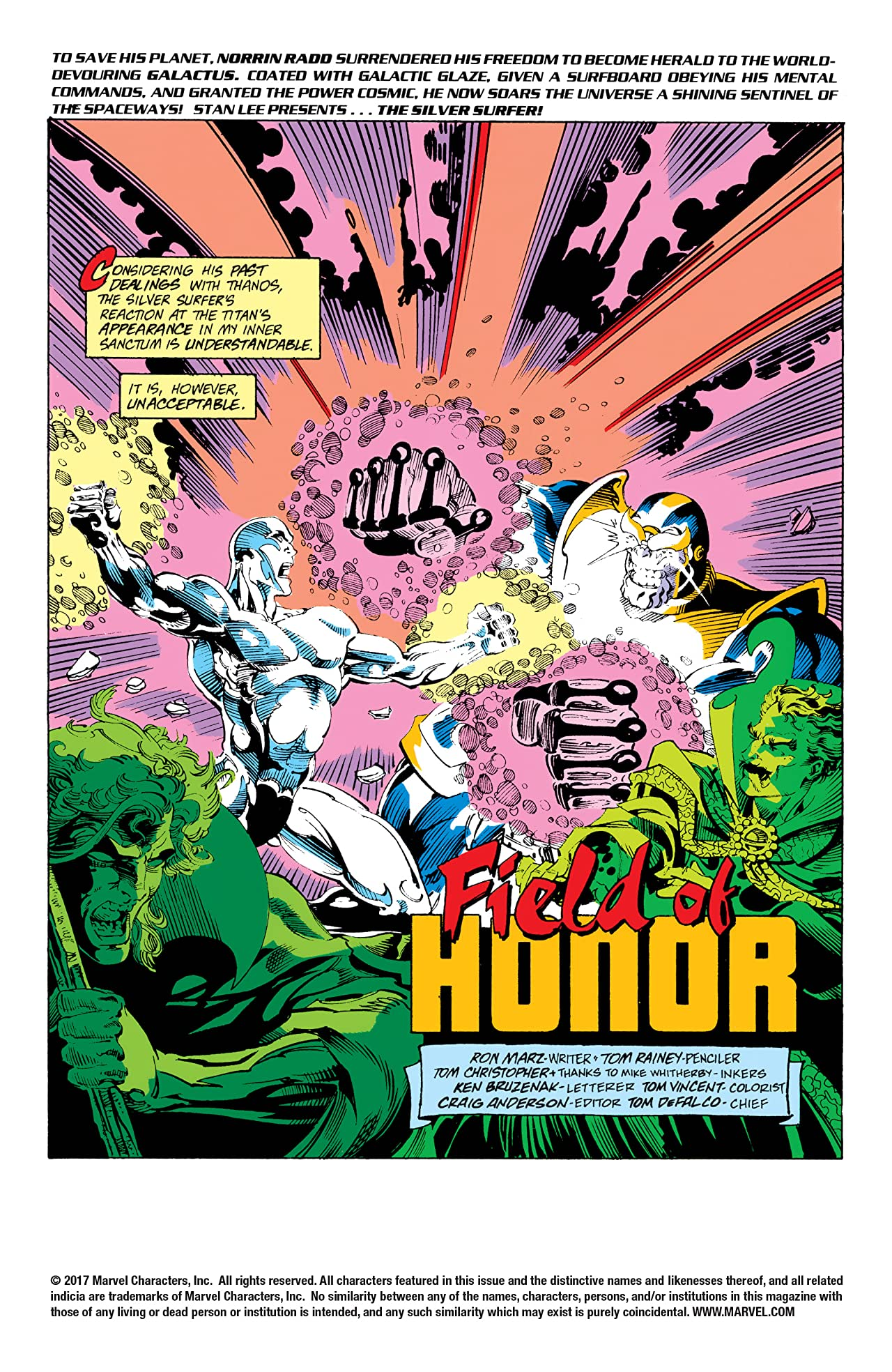 Silver Surfer (1987-1998) #59