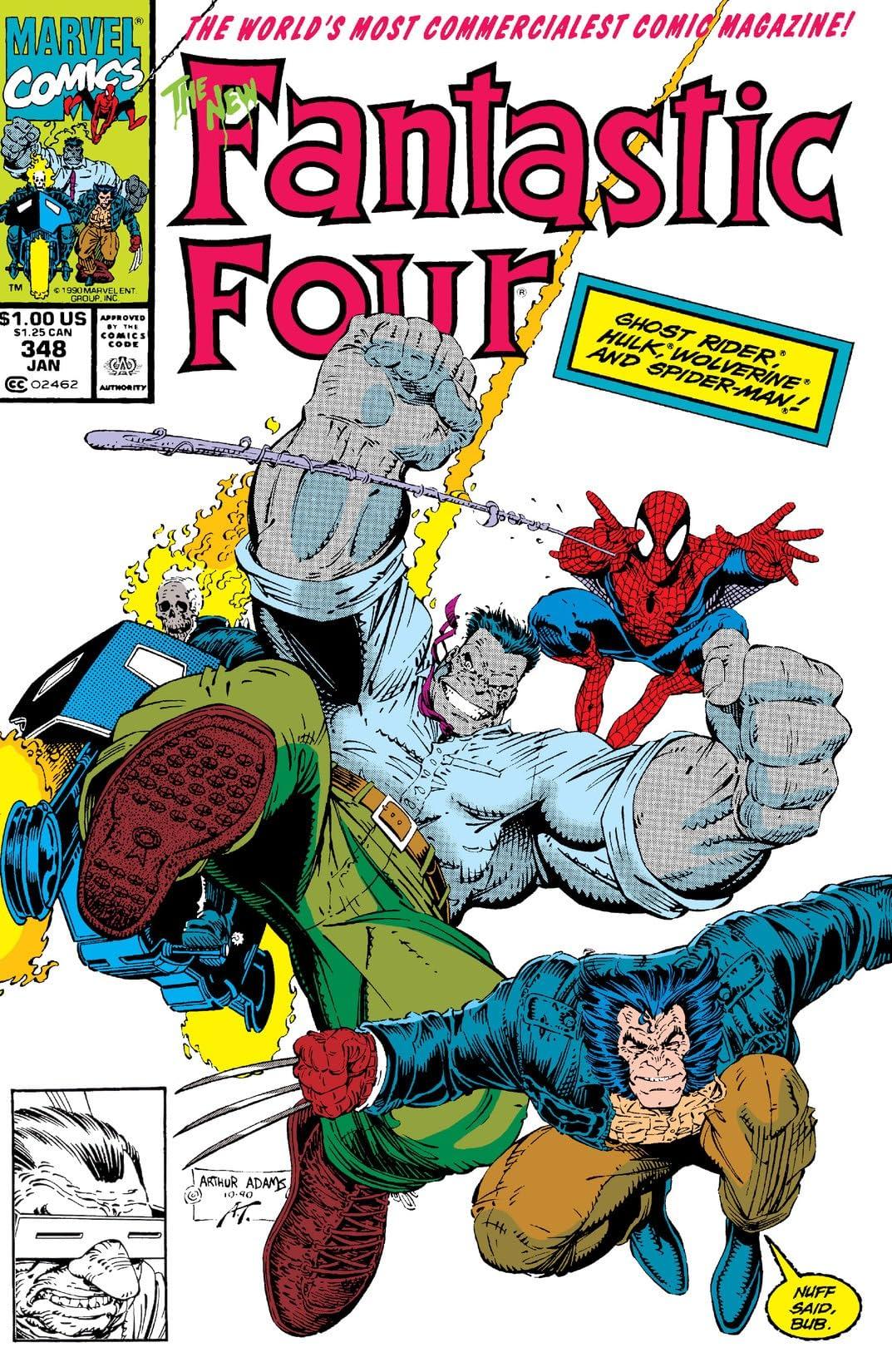 Fantastic Four (1961-1998) #348