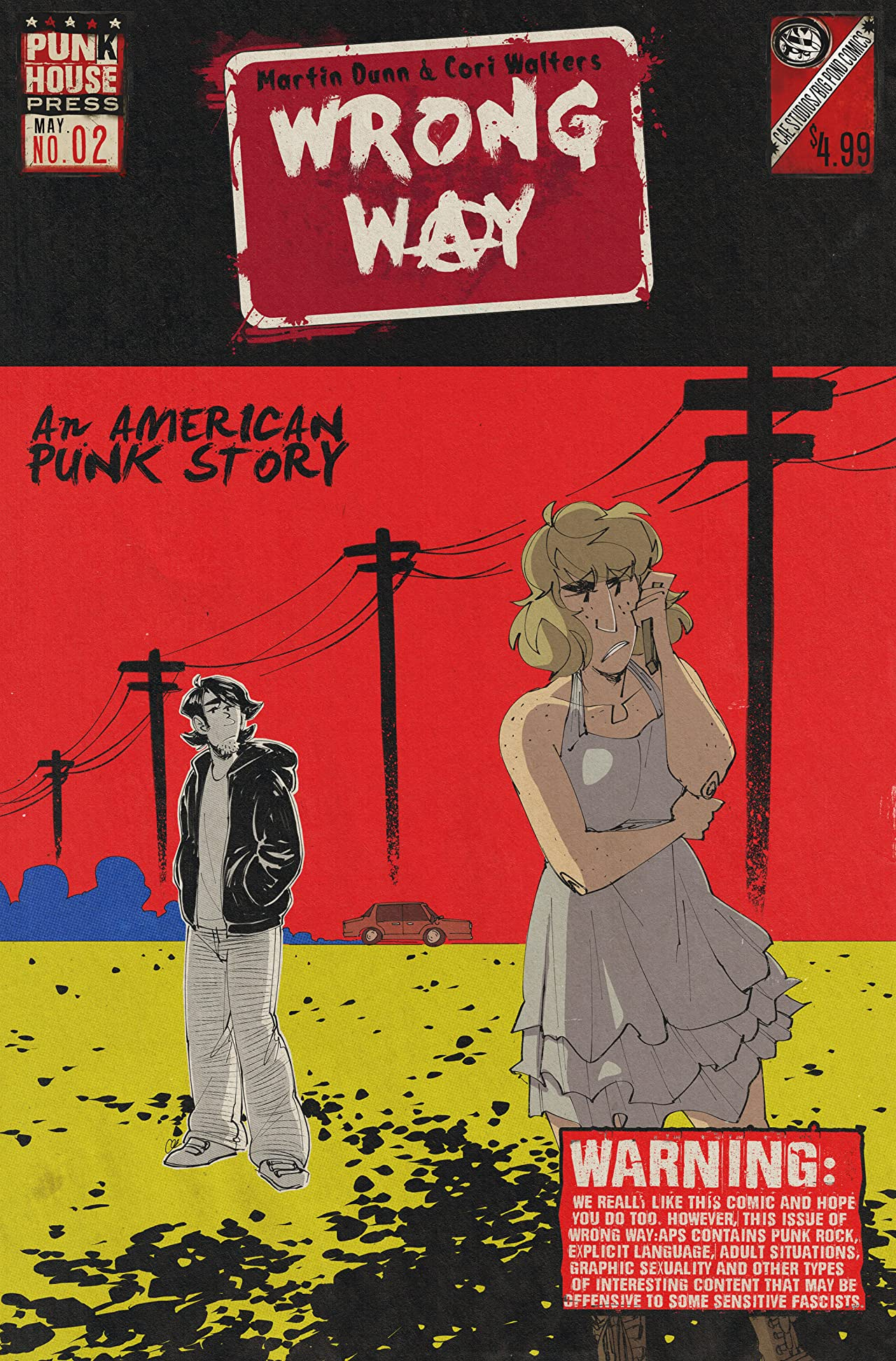 Wrong Way: An American Punk Story #2