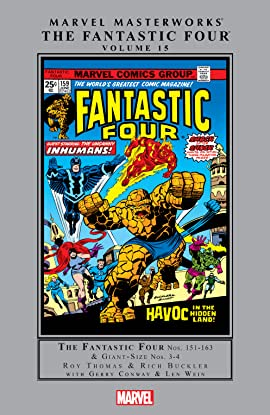 Fantastic Four Masterworks Vol. 15