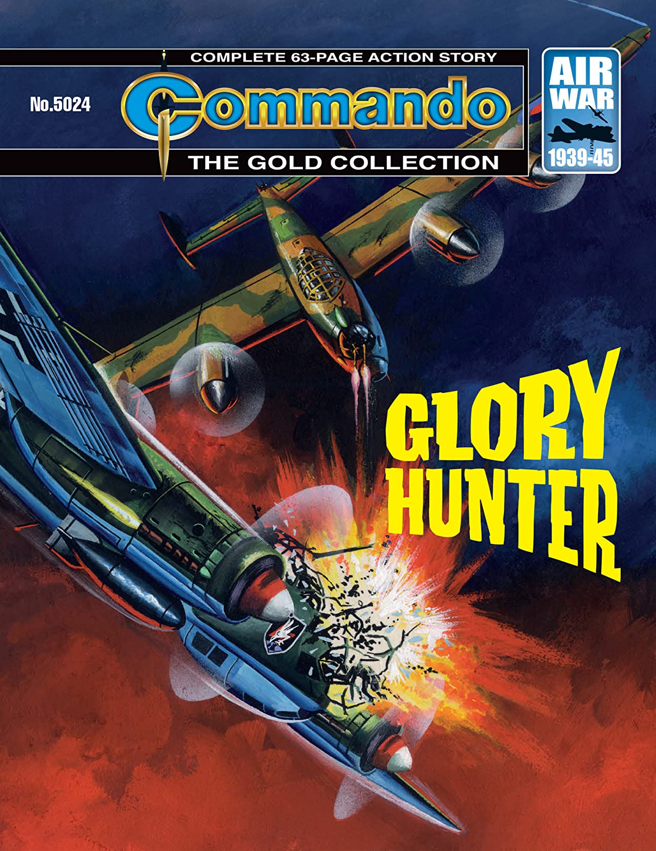 Commando #5024: Glory Hunter