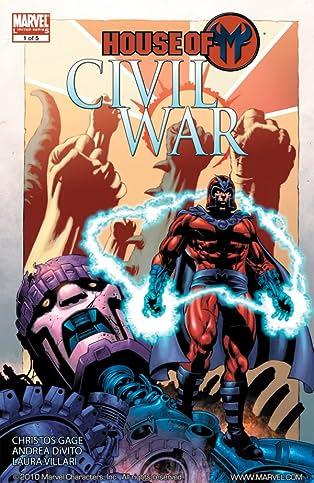 Civil War: House of M #1 (of 5)