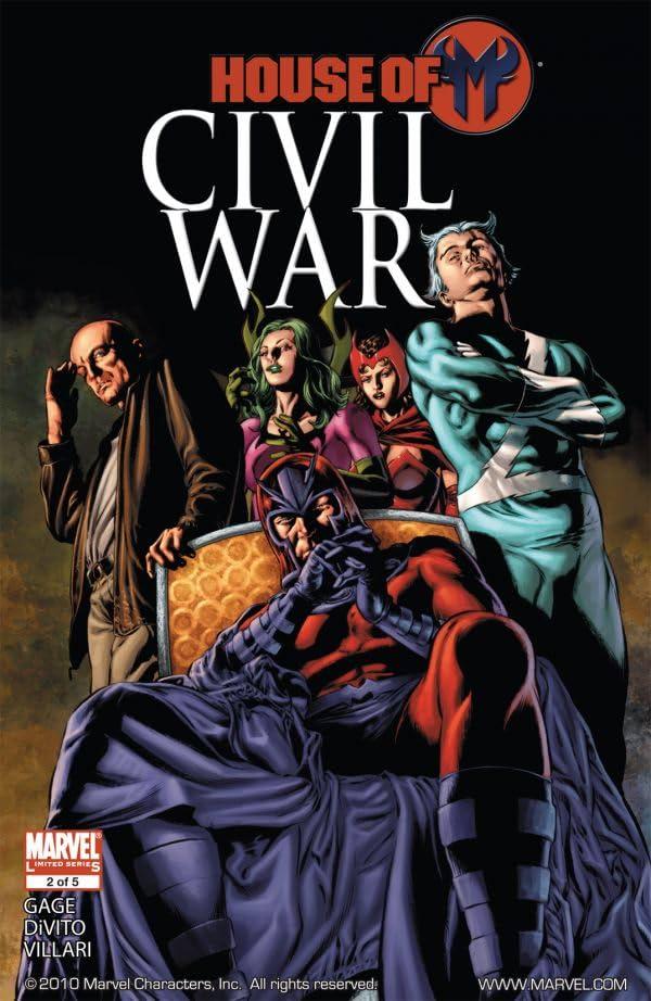 Civil War: House of M #2