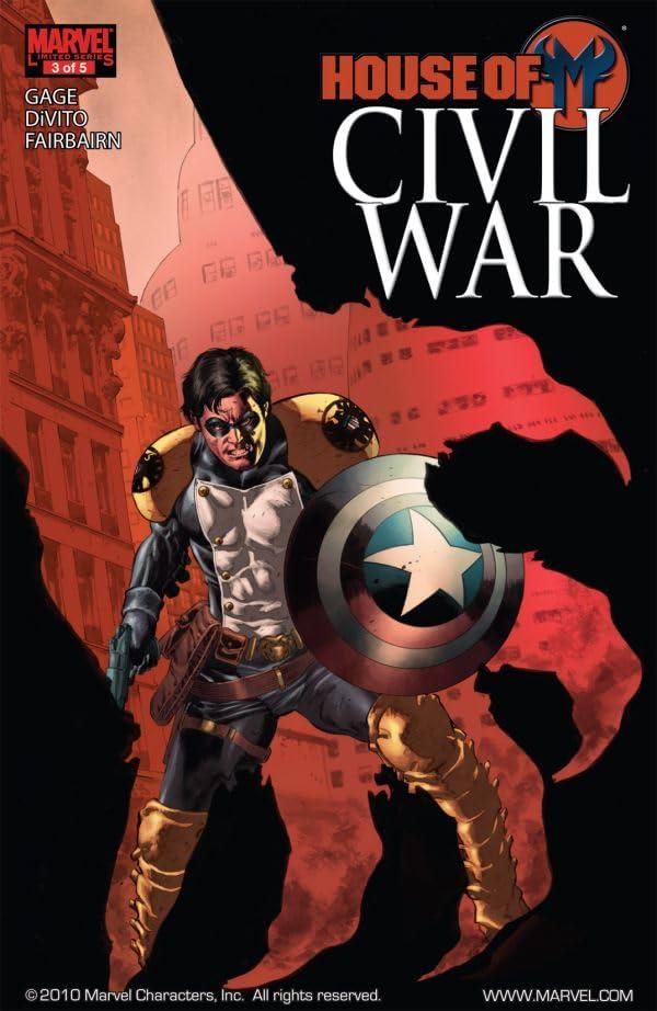 Civil War: House of M #3 (of 5)