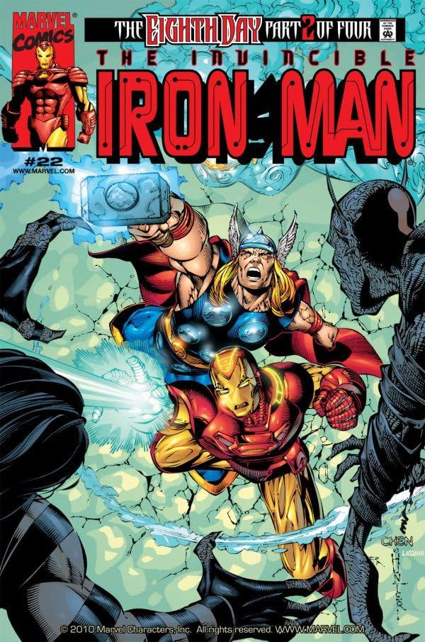 Iron Man (1998-2004) #22
