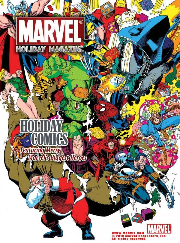Marvel Holiday Magazine #2