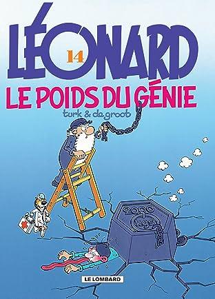 Léonard Vol. 14: Le poids du génie