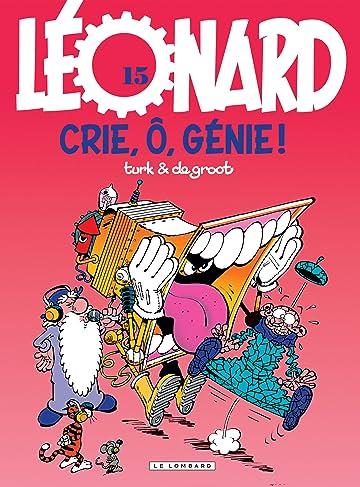Léonard Vol. 15: Crie, ô, génie !