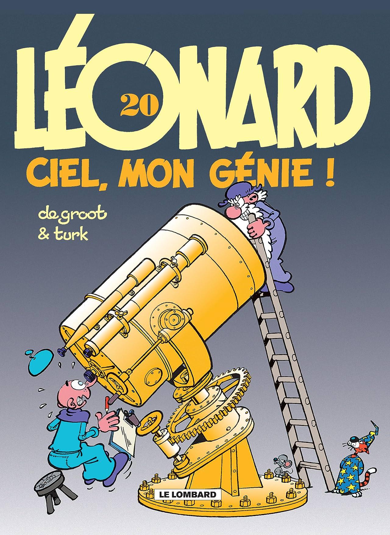 Léonard Vol. 20: Ciel, mon génie !
