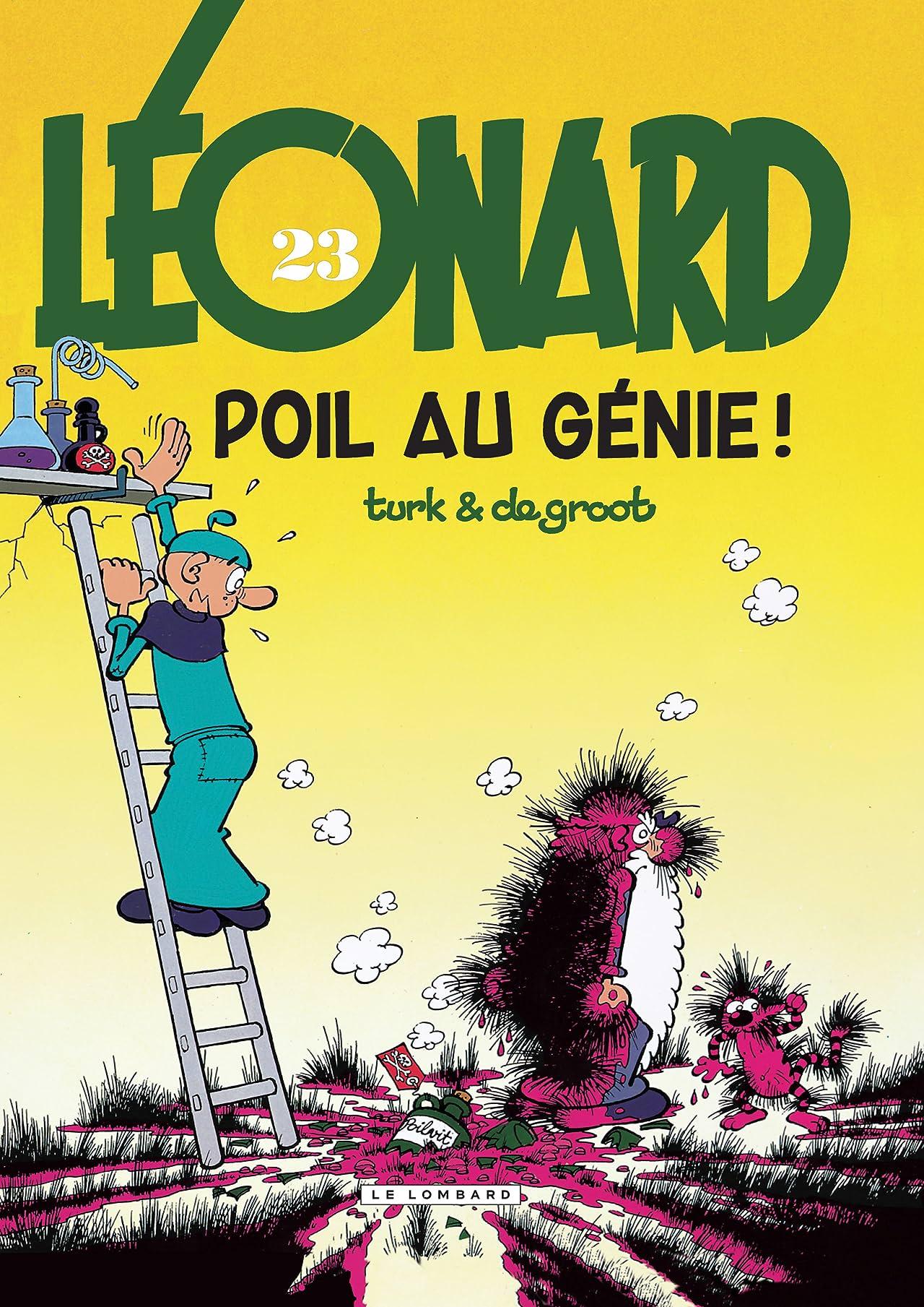 Léonard Vol. 23: Poil au génie !