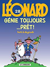 Léonard Vol. 28: Génie toujours... prêt !