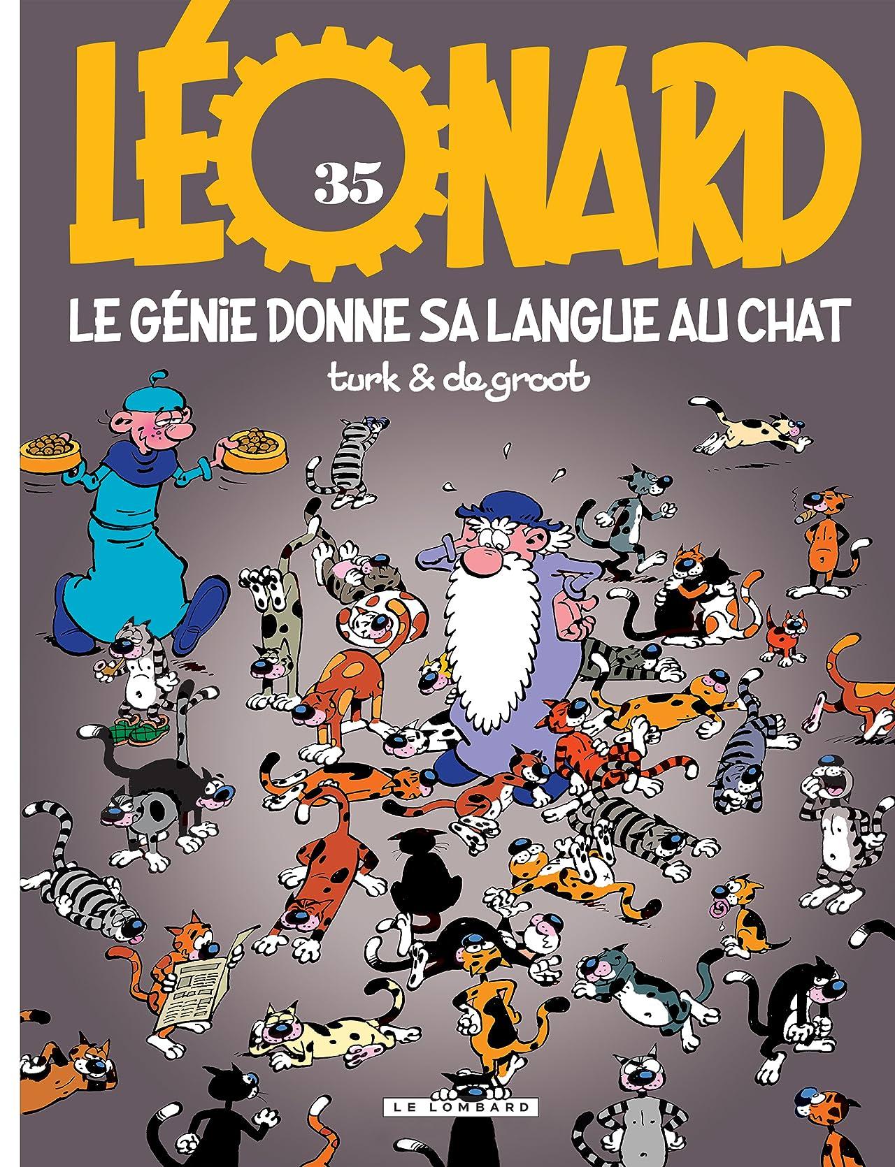 Léonard Vol. 35: Le génie donne sa langue au chat