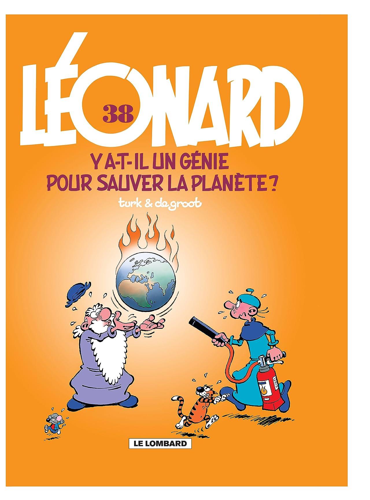 Léonard Vol. 38: Y'a-t-il un génie pour sauver la plančte ?