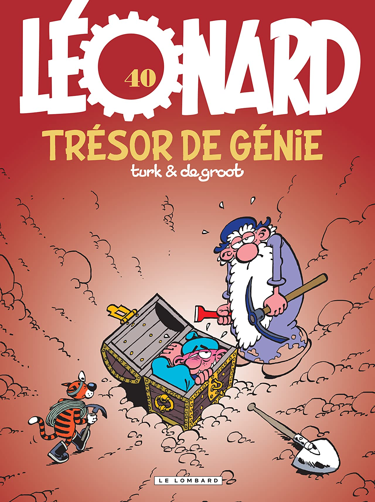 Léonard Vol. 40: Un trésor de génie