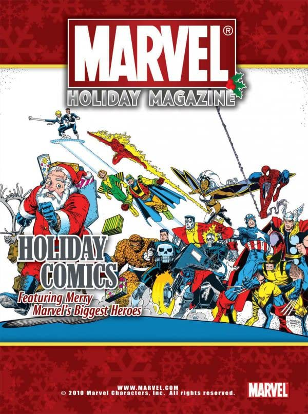 Marvel Holiday Magazine #4