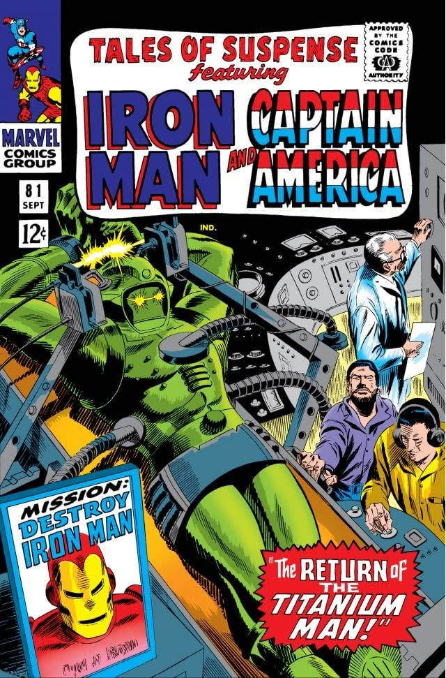 Tales of Suspense (1959-1968) #81
