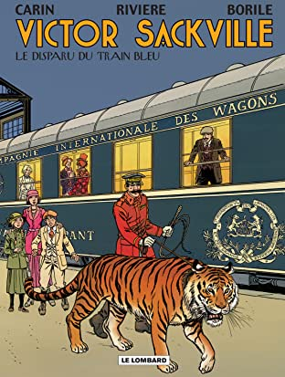 Victor Sackville Vol. 21: Le Disparu du Train Bleu