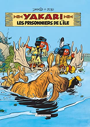 Yakari Tome 9: Les Prisonniers de l'île