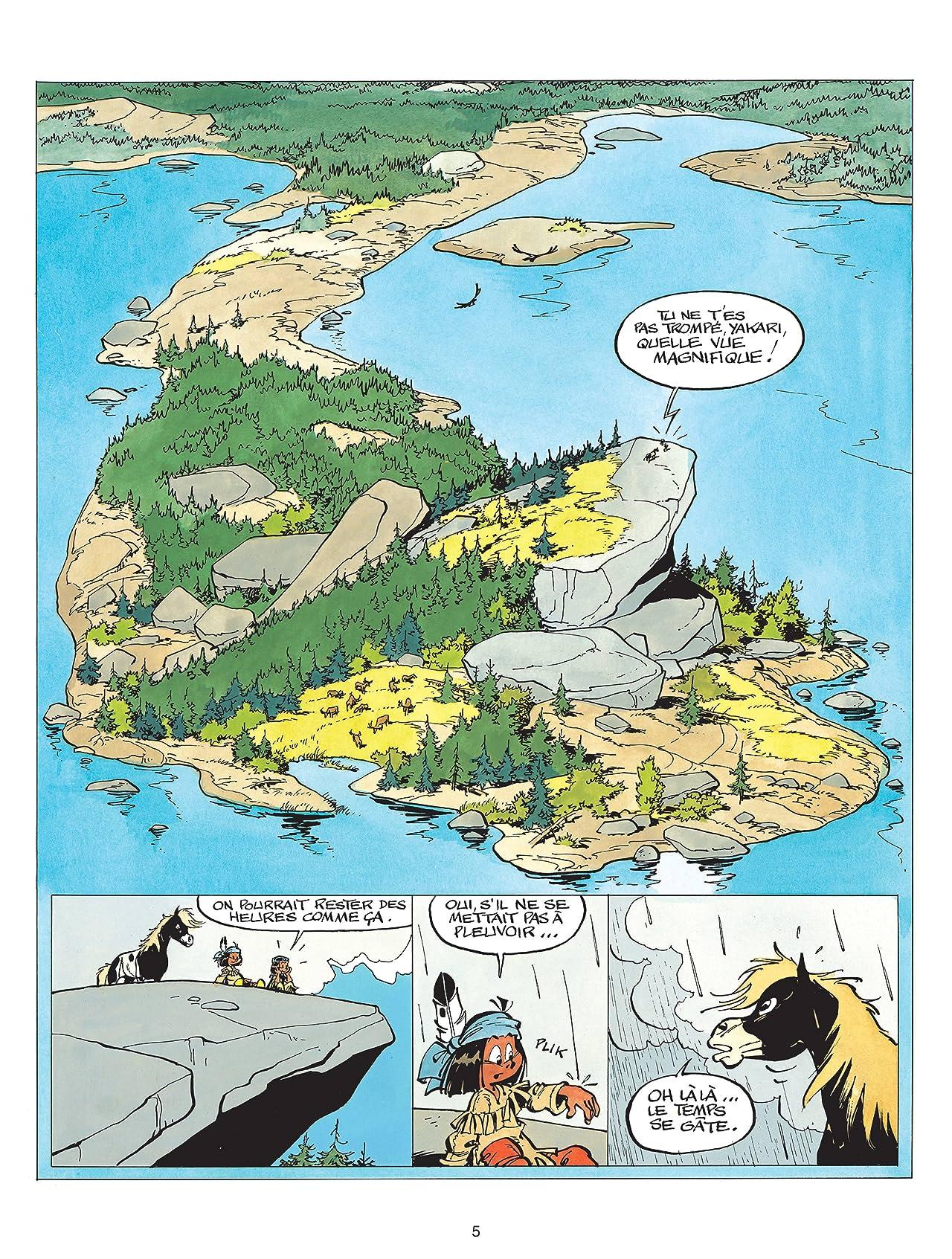 Yakari Vol. 9: Les Prisonniers de l'île