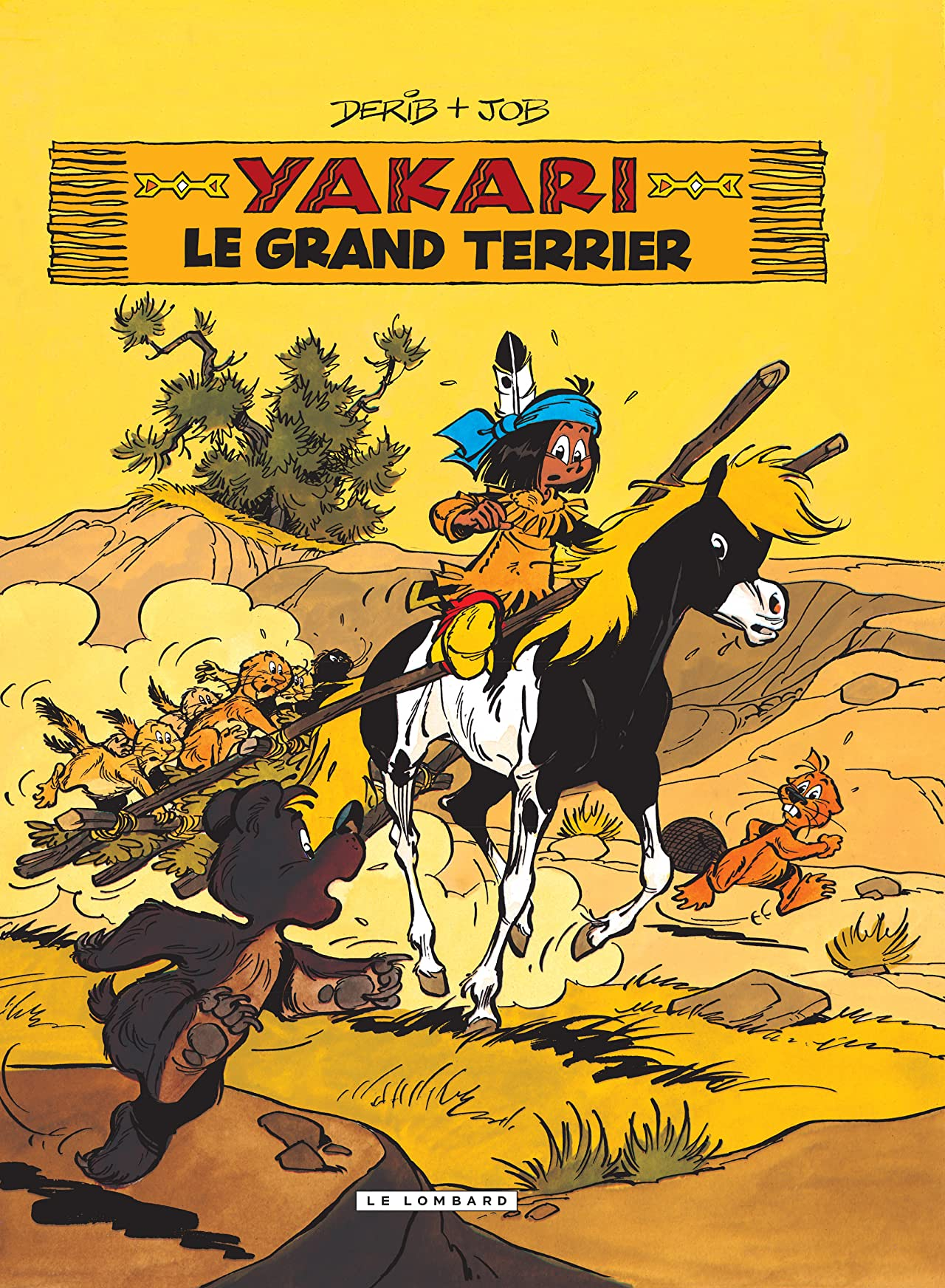 Yakari Vol. 10: Le Grand terrier