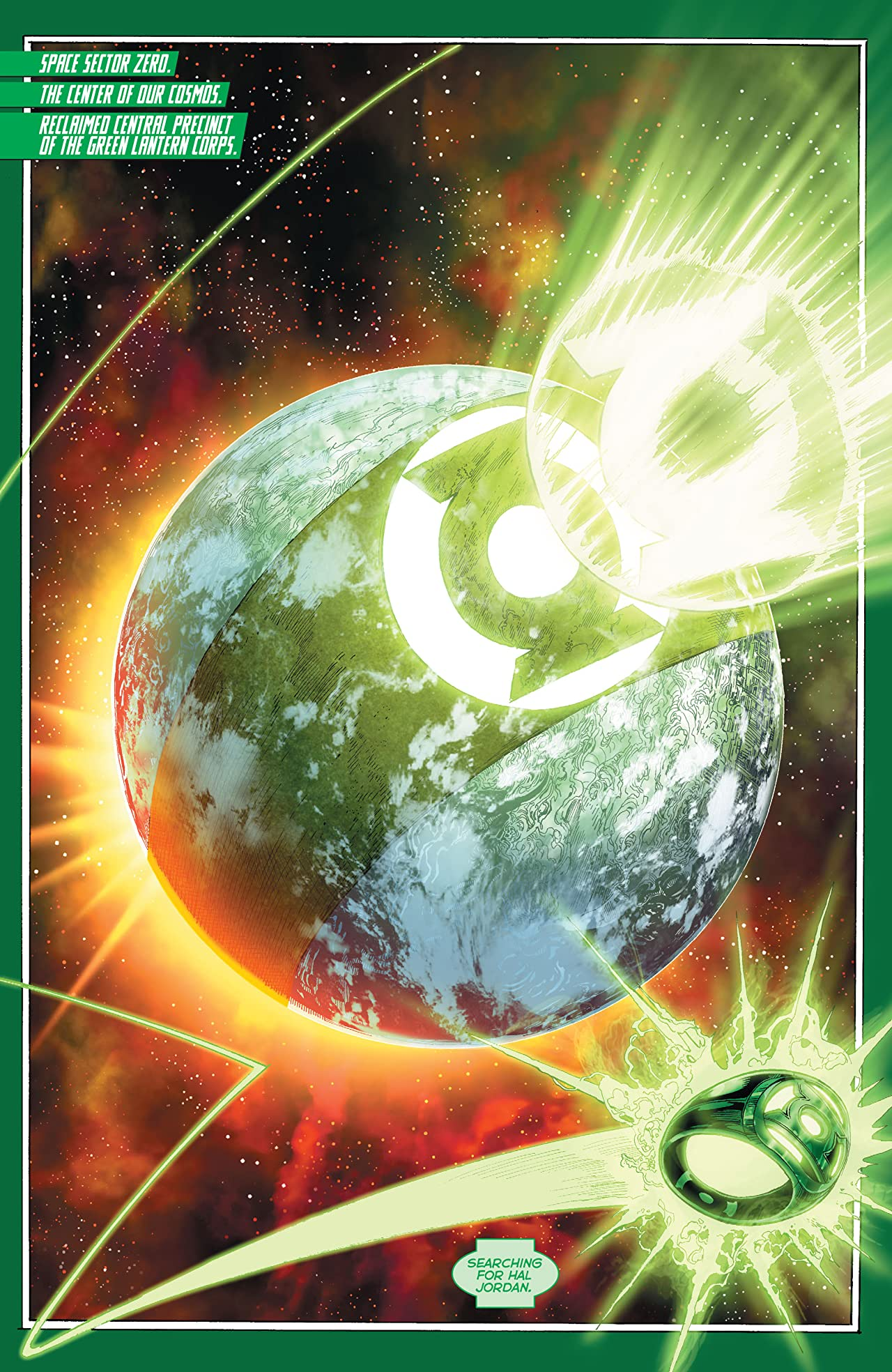 Hal Jordan and the Green Lantern Corps (2016-2018) Vol. 2: Bottled Light