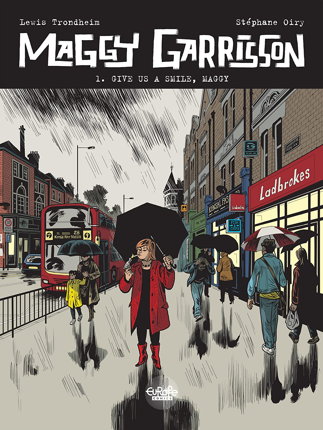 Maggy Garrisson Vol. 1: Give us a smile Maggy