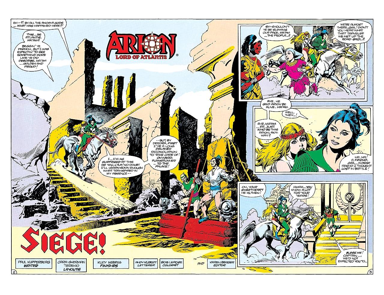 Arion, Lord of Atlantis (1982-1985) #29