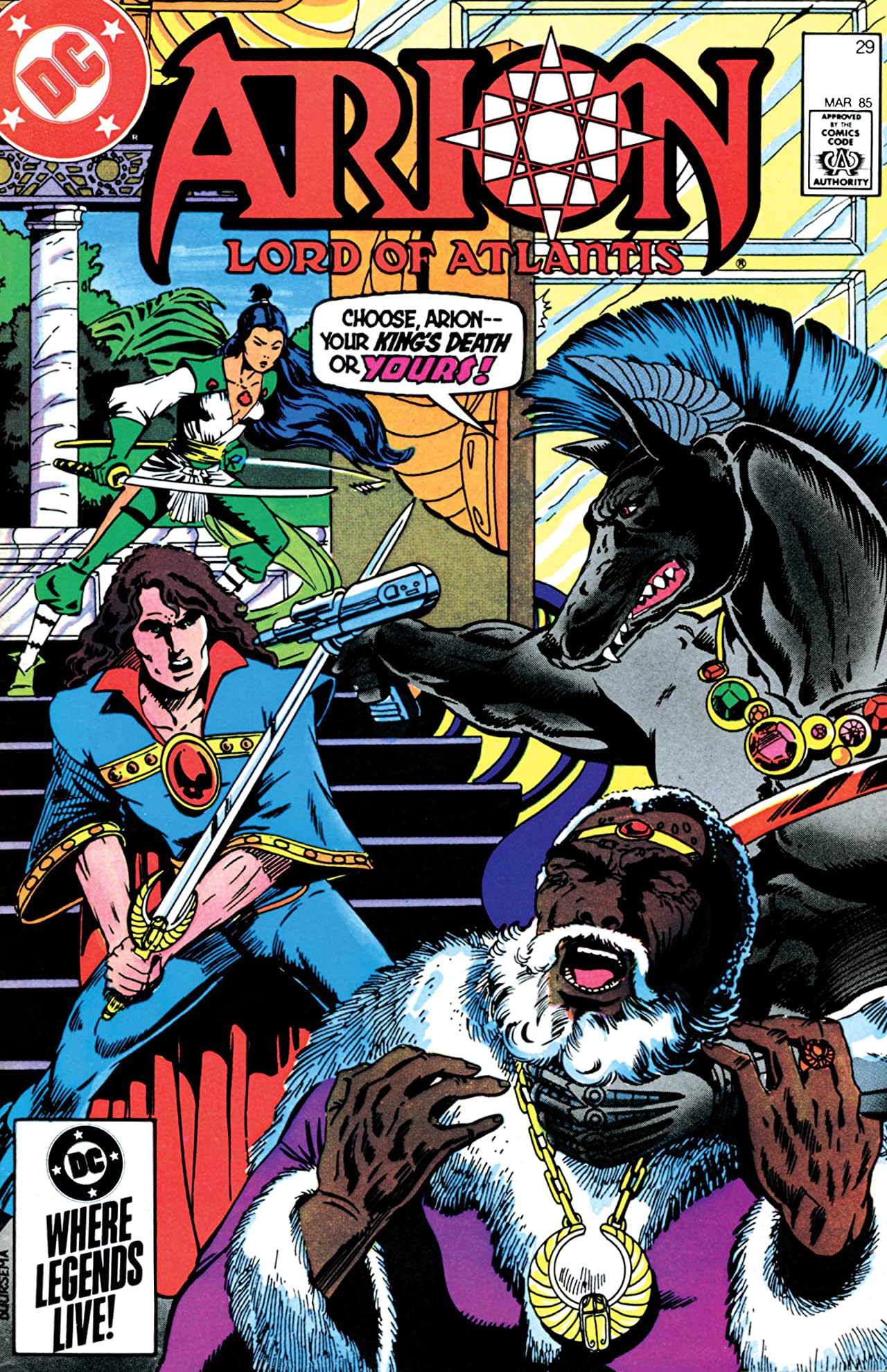 Arion, Lord of Atlantis (1982-1985) #29