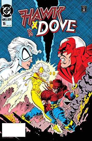 Hawk and Dove (1989-1991) #16
