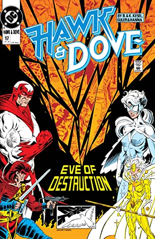 Hawk and Dove (1989-1991) #17