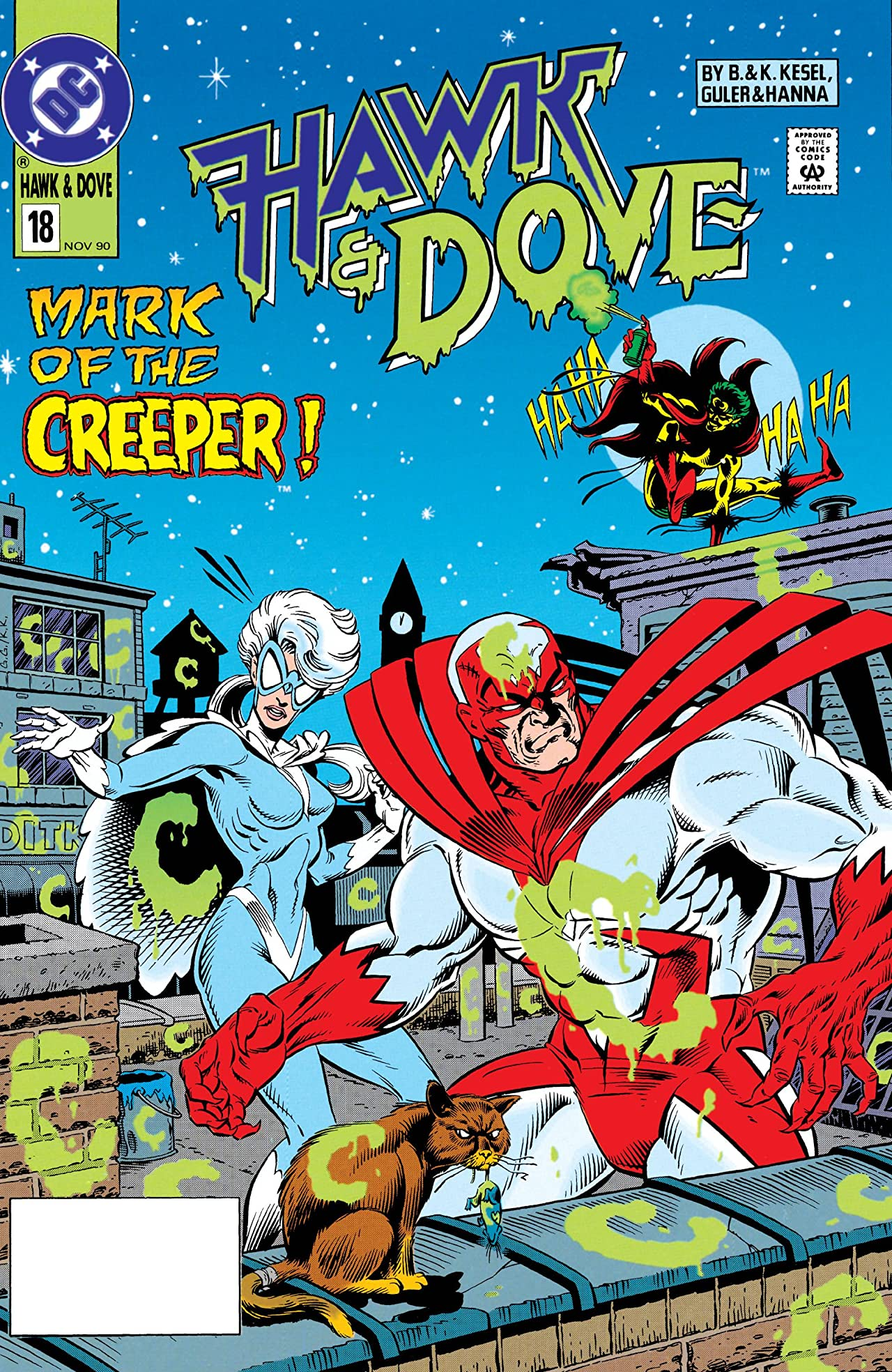 Hawk and Dove (1989-1991) #18