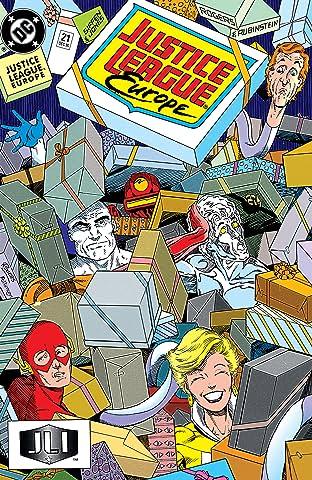 Justice League Europe (1989-1993) #21