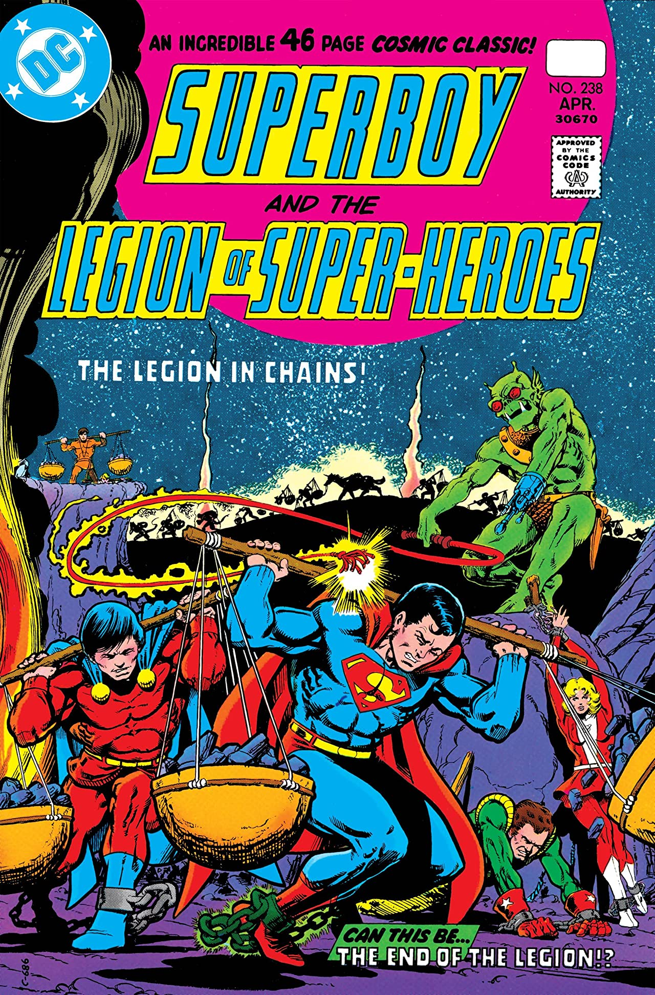 Superboy and the Legion of Super-Heroes (1949-1979) #238