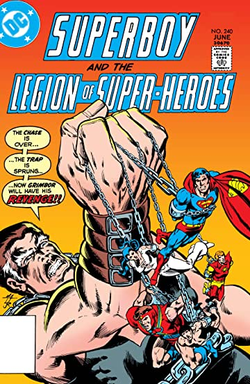 Superboy and the Legion of Super-Heroes (1949-1979) #240