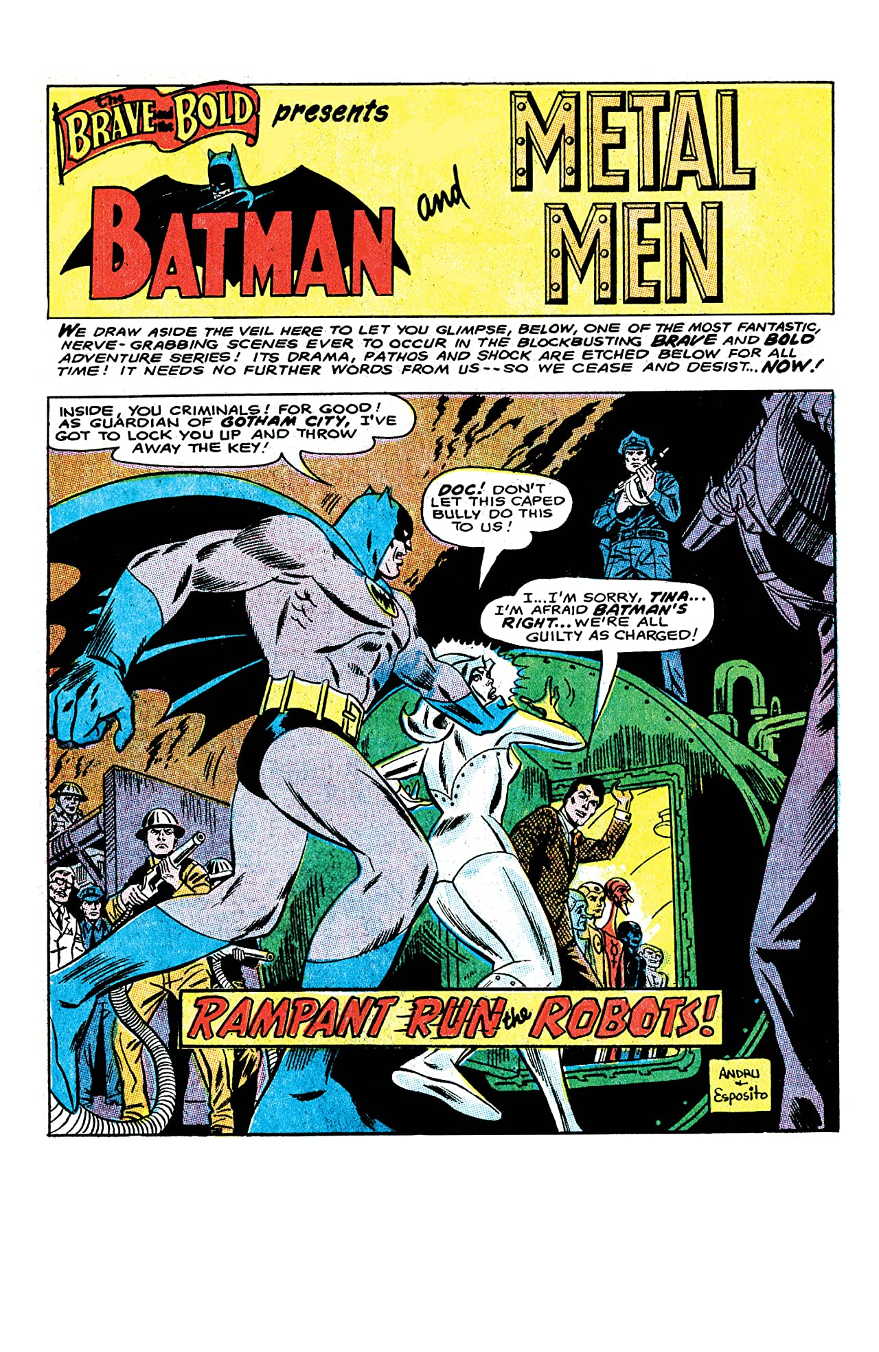 The Brave and the Bold (1955-1983) #74
